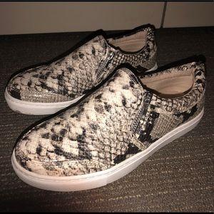 Steve Madden Snakeskin Sneaker